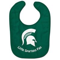 "Michigan State University WinCraft Infant ""Little Spartans Fan"" Bib"