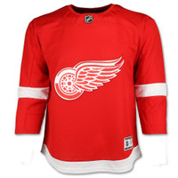 Detroit Red Wings Youth Fanatics Red Replica Jersey