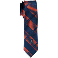 Detroit Tigers Eagles Wings Woven Poly 1 Skinny Plaid Tie