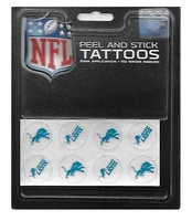 Detroit Lions Rico Industries Peel and Stick Tattoos