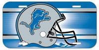 Detroit Lions Wincraft Plastic License Plate