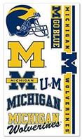 University of Michigan Wincraft Temporary Tattoos