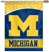 "University of Michigan Wincraft 27""x37"" Vertical Flag"