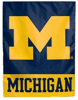 University of Michigan Wincraft Garden Flag