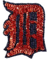 Detroit Tigers Aminco Grace Collection Sequins and Bead Hair Clip
