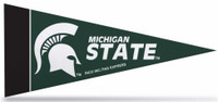 Michigan State University Rico Industries 8 Piece Mini Pennant Set