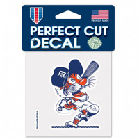 "Detroit Tigers WinCraft Swinging Kitty Perfect Cut Decal 3.5""x 2.5"""