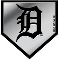 Detroit Tigers Rico Industries Automotive Chrome Team Emblem