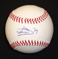 Jose Iglesias Autographed Baseball - Official Major League Ball