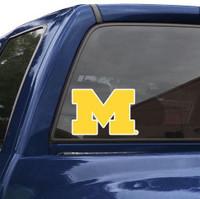 "University of Michigan Wincraft Perfect Cut 8""x8"" Decal"
