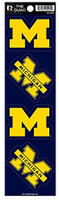 University of Michigan Rico Quad Decal Set of 4
