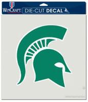 "Michigan State University Wincraft Perfect Cut 8""x8"" Green Decal"