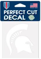 "Michigan State University Wincraft Perfect Cut 4""x4"" Decal"