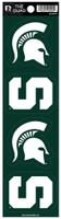 Michigan State University Rico Quad Decal Set of 4