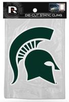 "Michigan State University Rico 5"" Static Cling"
