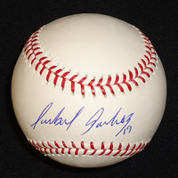 Anibal Sanchez Autographed Baseball - Official Major League Ball