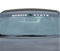 "Michigan State University Team ProMark 35""x4"" Windshield Decal"