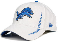 Detroit Lions Child-Youth New Era 39THIRTY Training Flex Hat
