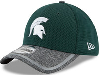 Michigan State University Men's New Era 39Thirty NE16 Training FlexFit Hat
