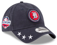 Detroit Tigers Men's New Era Navy 2018 MLB All-Star Workout 9TWENTY Adjustable Hat