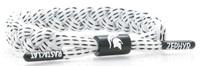 Michigan State University Rastaclat White Braided Shoelace Bracelet