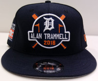 Detroit Tigers Men's New Era 9FIFTY Alan Trammell Hall of Fame Snapback Hat