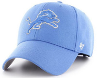 Detroit Lions Men's 47 Brand Clean Up MVP Adjustable Hat