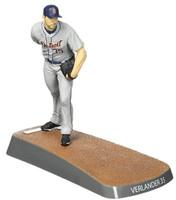 Detroit Tigers Imports Dragon  Justin Verlander 6 Inch Figurine