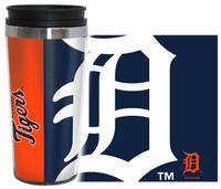 Detroit Tigers Boelter Brands 16oz Travel Hype Tumbler