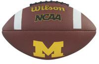 University of Michigan Wilson Composite Logo Football