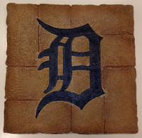 Detroit Tigers Team Sports America Garden Paver Stepping Stone