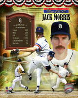 "Jack Morris Autographed 8x10 Photo #3 Inscribed ""HOF 18"" - HOF Composite (Pre-Order)"