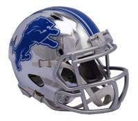 Darius Slay Autographed Detroit Lions Chrome Mini Helmet (Pre-Order)