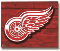 Detroit Red Wings Team Sports America Lit Wall Décor