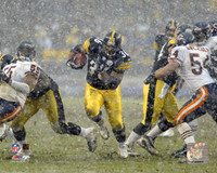 Jerome Bettis Autographed 8x10 #3 - In The Rain (horizontal) (Pre-Order)