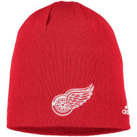 Detroit Red Wings Adidas Core Knit Beanie – Red