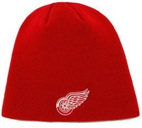Detroit Red Wings 47 Brand Red Knit Beanie