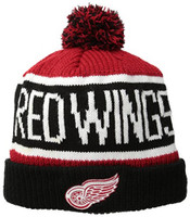 Detroit Red Wings 47 Brand Calgary Knit Hat With Pom