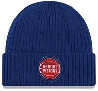 Detroit Pistons New Era Blue Core Classic Knit Hat