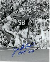 Joe DeLamielleure Autographed Buffalo Bills 8x10 Photo #2