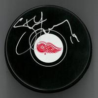 Steve Yzerman Autographed Puck