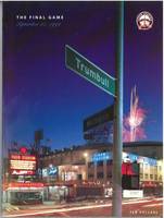 Tiger Stadium Final Game Program - Embossed Limited Edition