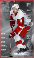 """Lidstrom"" Nicklas Lidstrom Commemorative Free Press Poster"