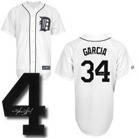 Avisail Garcia Autographed Detroit Tigers Jersey