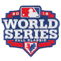 Official 2012 World Series Jersey Patch