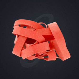 12 pack of Red Classic Grand Band replacement rubber bands