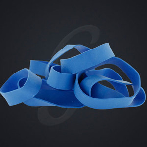 """12 pack of Blue Luxe """"Medium"""" Grand Band replacement rubber bands"""