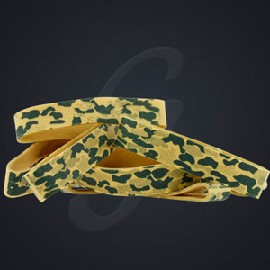 12 pack of Gold Camo Luxe Grand Band replacement rubber bands