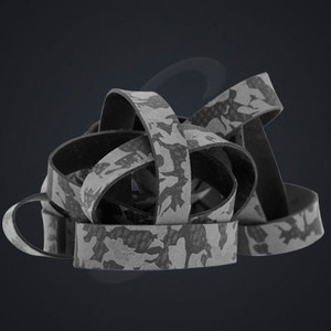 """12 pack of Black Camo Luxe """"Medium"""" Grand Band replacement rubber bands"""