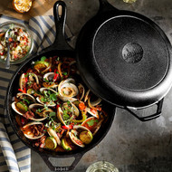 Cast Iron 3.2 Quart Combo Cooker